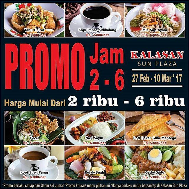 Promo Kuliner Seru di Kalasan Sun Plaza 27 Feb - 10 Maret 2017