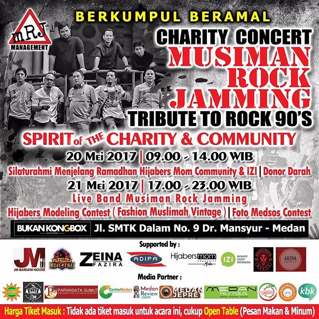 Charity Concert, Musiman Rock Jamming