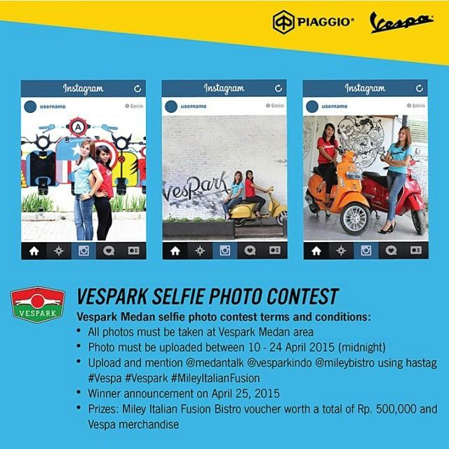 Vespark Selfie Photo Contest