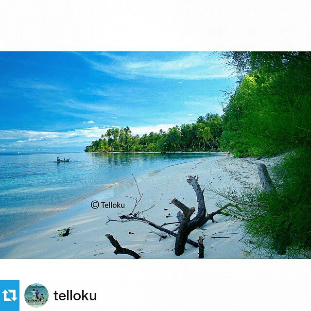 Amazing beach... Sibaranun, Tello Island, South Nias, North Sumatera, Indonesia - @telloku