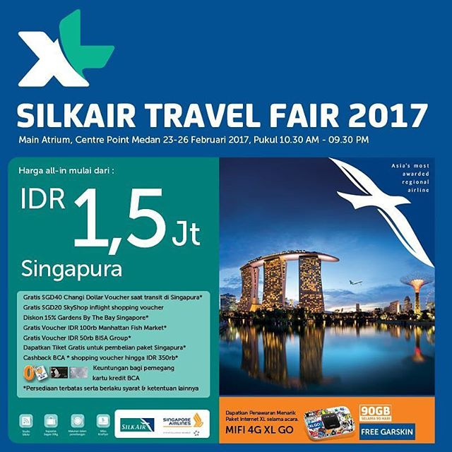 Silkair Travel Fair 2017
