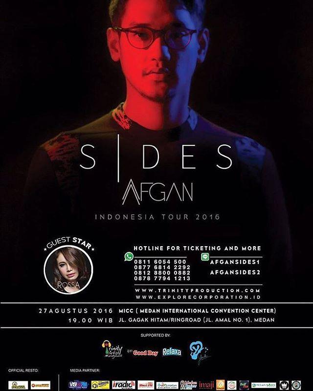 AFGAN SIDES INDONESIA TOUR 2016 - MEDAN
