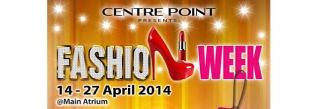 Fashion Week Centre Point Mall Medan 14 - 27 April 2014