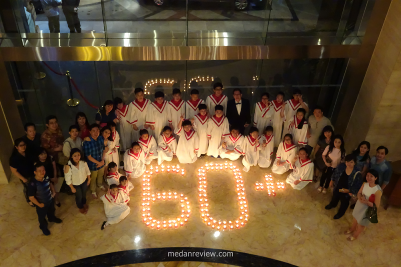 Earth Hour 2017 di JW Marriott Medan