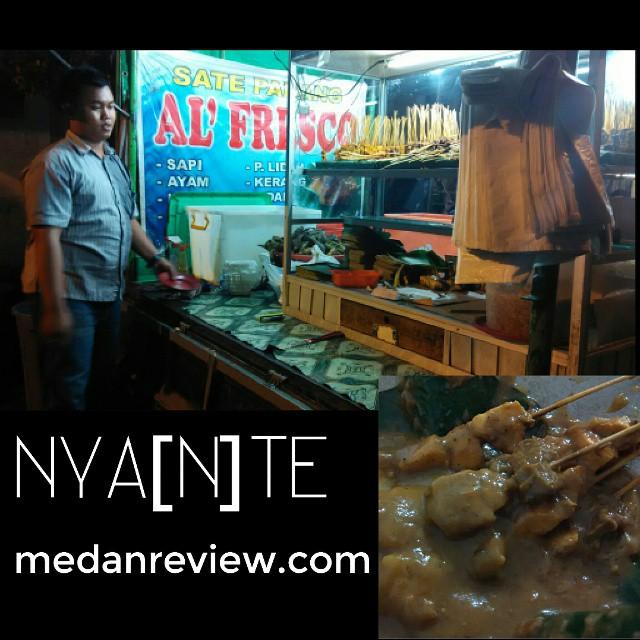 NYA[N]TE (Nyate Santai) Sate Padang Al'Fresco