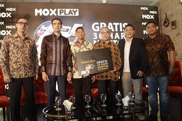 XL dan MoX Dukung Industri Film Nasional Melalui Layanan MOX Play