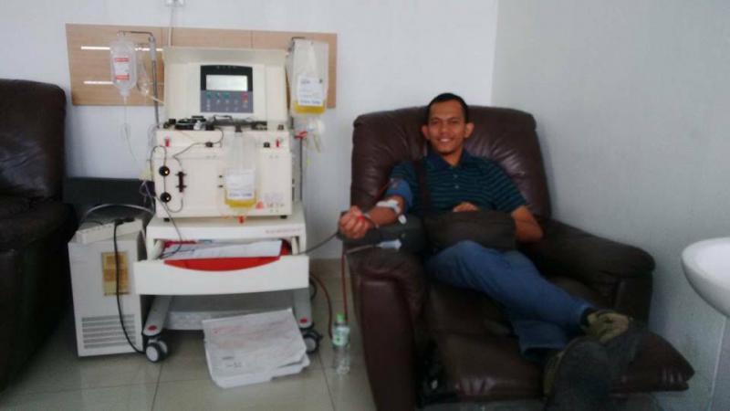 'Darah Kuning' untuk Adik-Adik Pejuang Kanker
