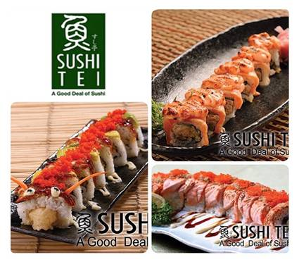 Sushi Tei's 9th Anniversary Deal Promo