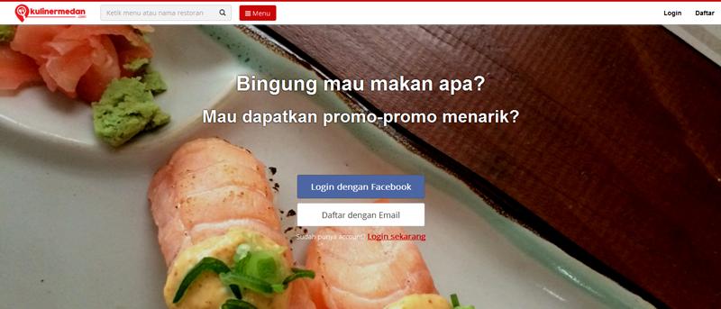KulinerMedan.com : Blog Kuliner Kota Medan Kini Tampil Interaktif
