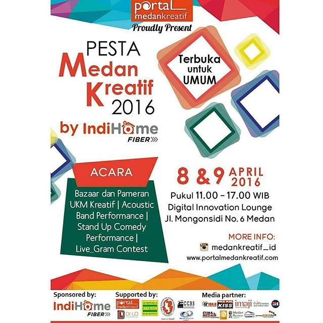 Pesta Medan Kreatif 2016 by IndiHome Fiber