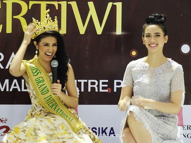 Meet and Greet Miss Grand International 2016 di Mall Centre Point Medan