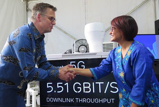 XL Axiata – Ericsson Ujicoba 5G Outdoor Pertama di Indonesia