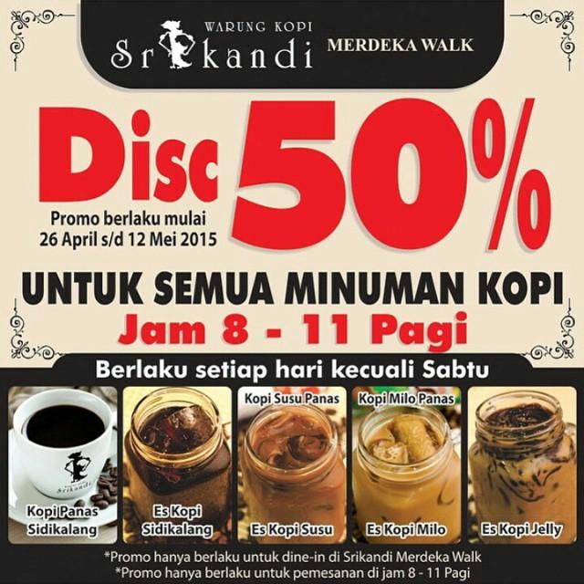Warung Kopi Srikandi : Promo Breakfast / Sarapan