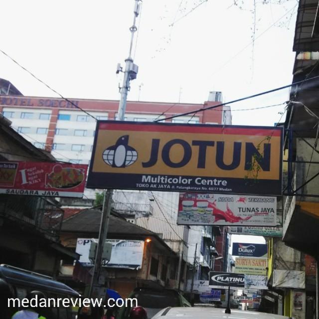 Jalan Palangkaraya Medan