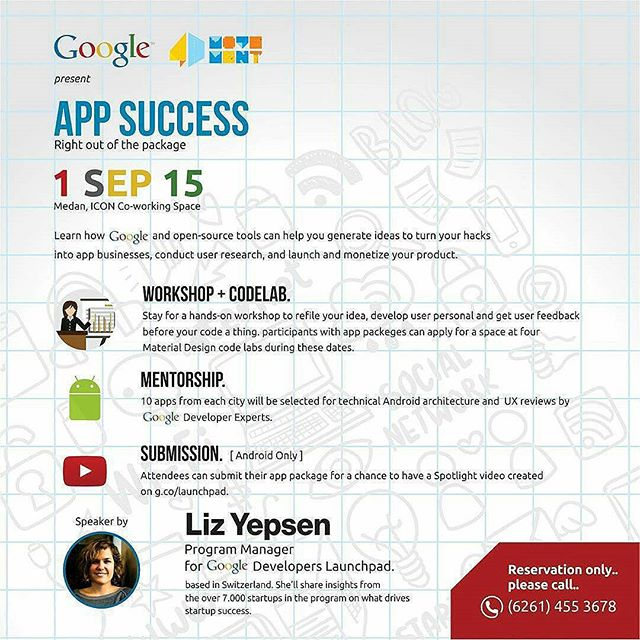 App Success Bersama Program Manager Google