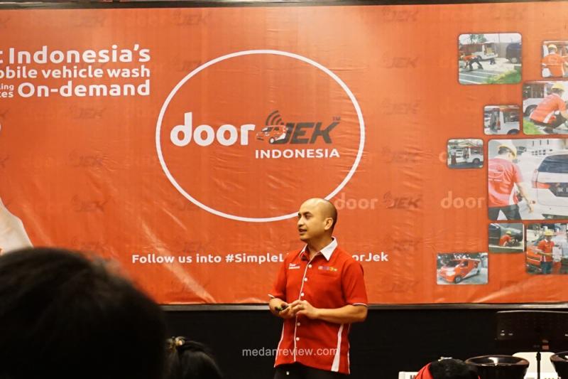 DoorJek : Layanan Cuci Kendaraan On Demand Karya Anak Medan