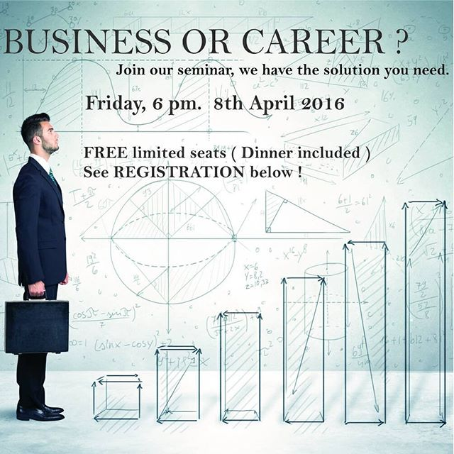 Business and Career Opportunity Seminar