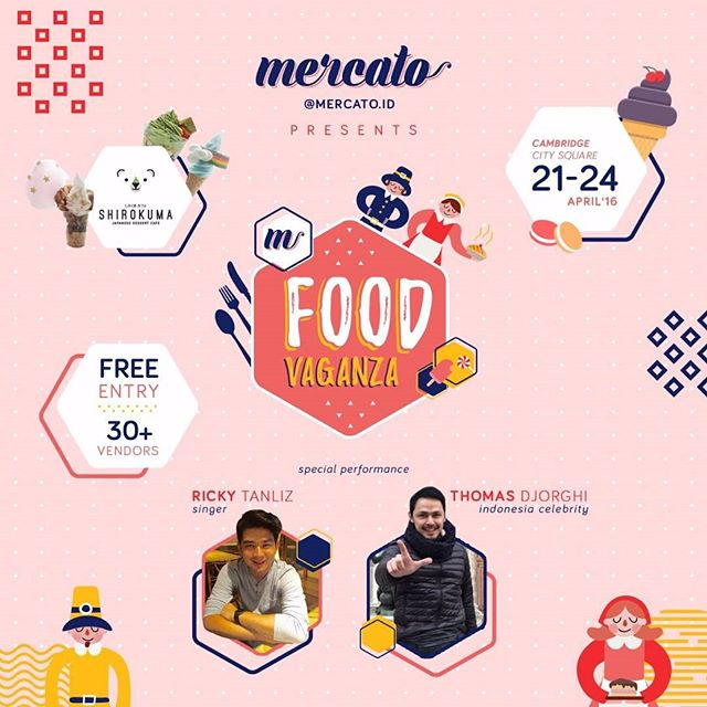 Food Vaganza 2016 by Mercato.id