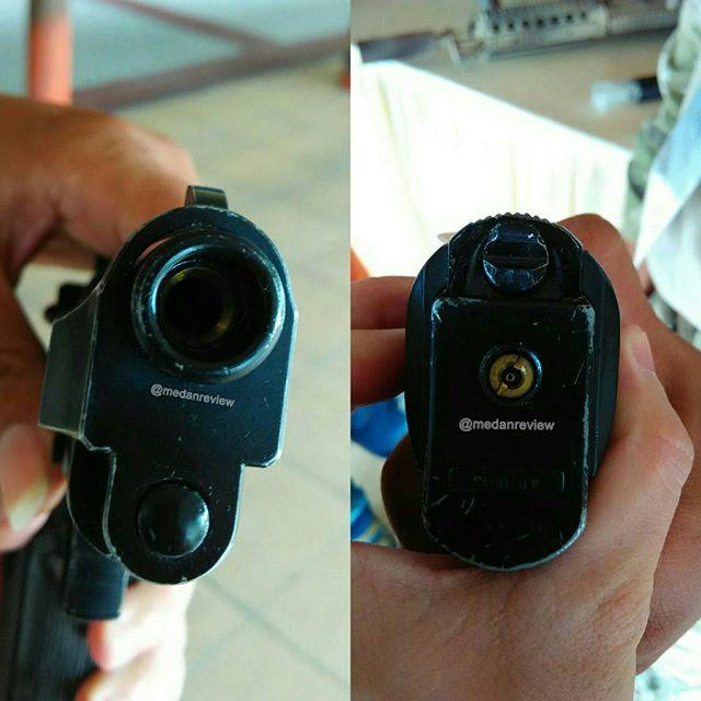 Membedakan Senjata Api dan Airsoft Gun