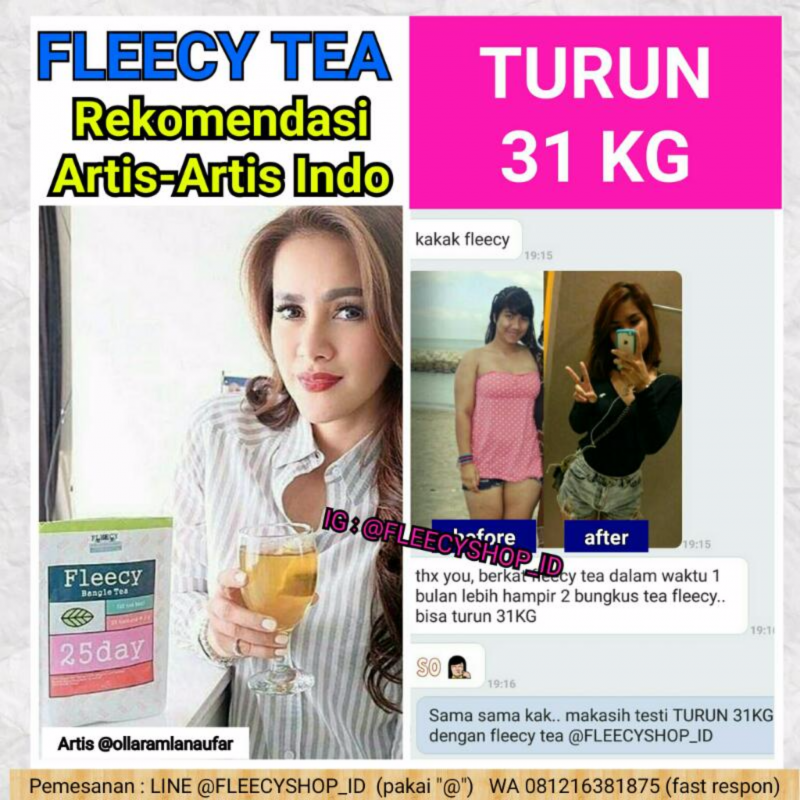 Fleecy Bangle Tea (@FLEECYSHOP_ID)