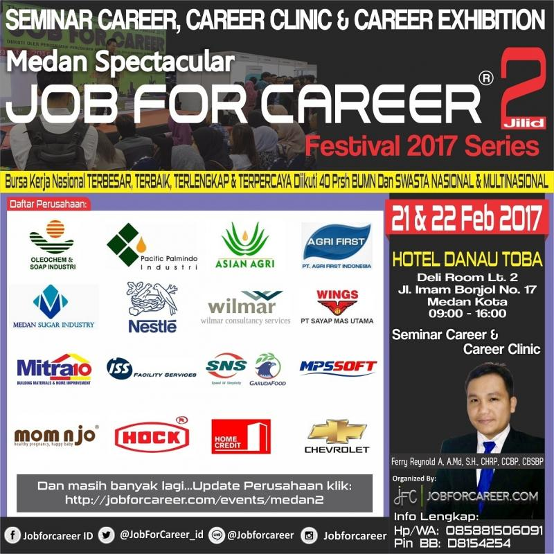 JOB FOR CAREER FESTIVAL 2017 JILID 2