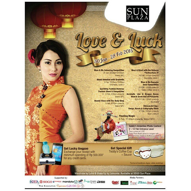 SUN Plaza Love & Luck (30 Jan – 28 Feb 2015)