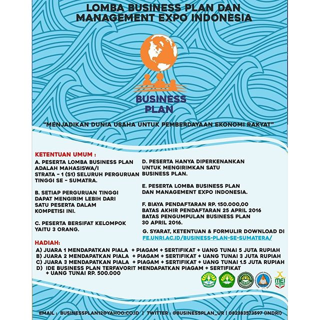 Lomba Business Plan dan Management Expo Indonesia
