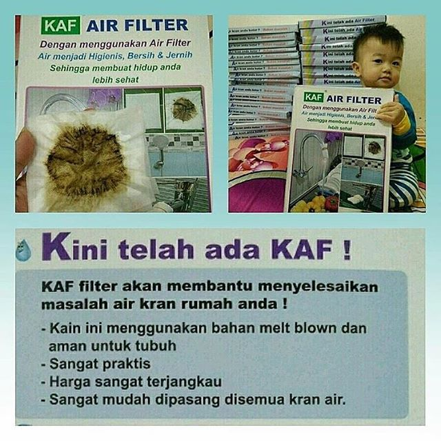 KAF Air Filter (@cleanwaterid_sumut)