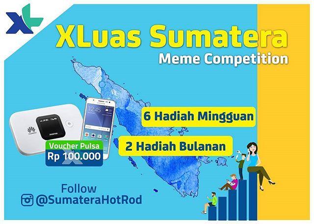 XLuas Sumatera Meme Competition!
