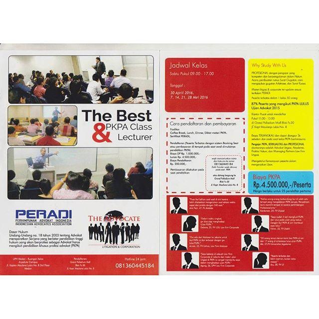 Pendidikan Khusus Profesi Advokat (PKPA) oleh FFLAW