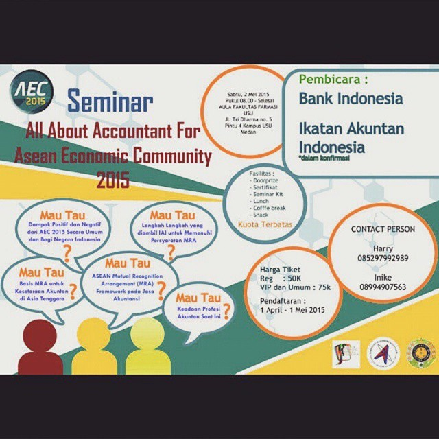 Seminar Akuntansi : All About Accountant for  ASEAN Economic Community (AEC)