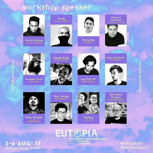 EUTOPIA : Art Exhibition, Workshop & Art Market (#1)