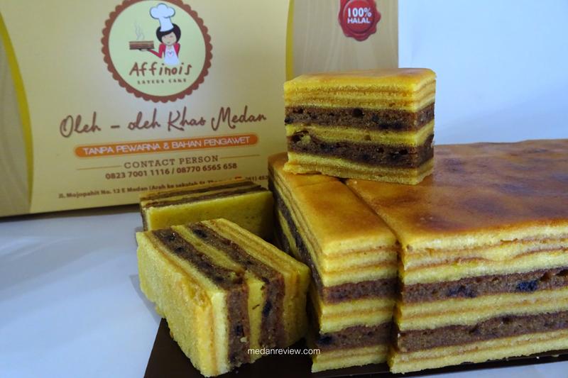 Affinois : Layers Cake Oleh-oleh Khas Medan (@affinois)