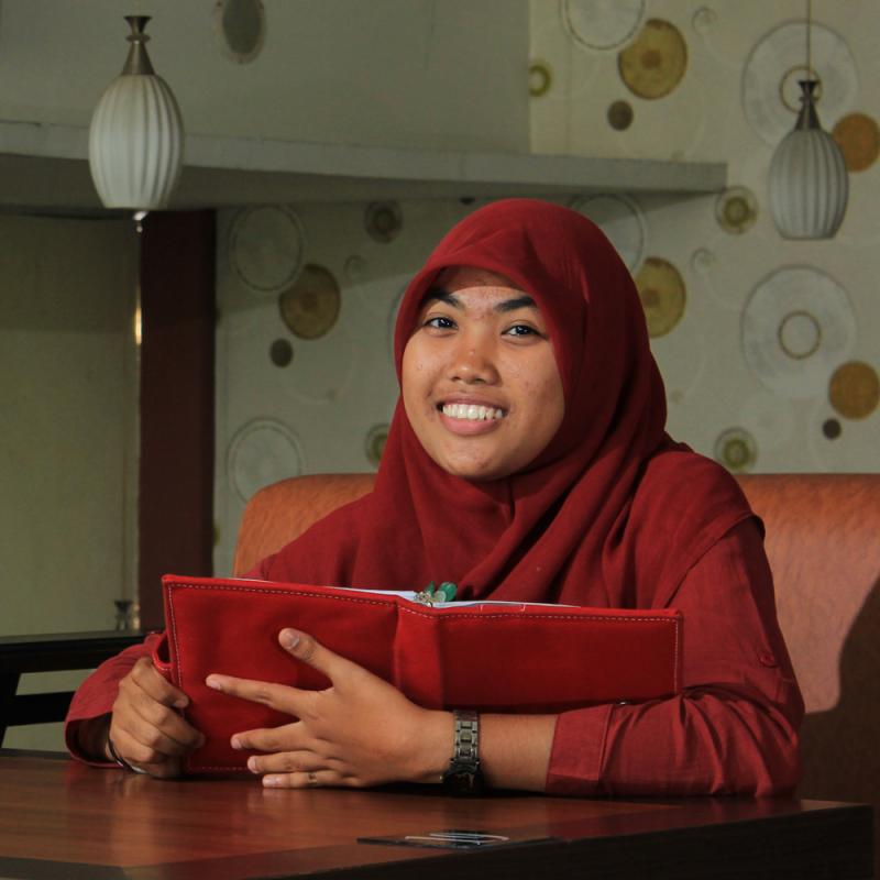 Rizka Sitanggang, Tampil Sebagai Pembicara Microsoft