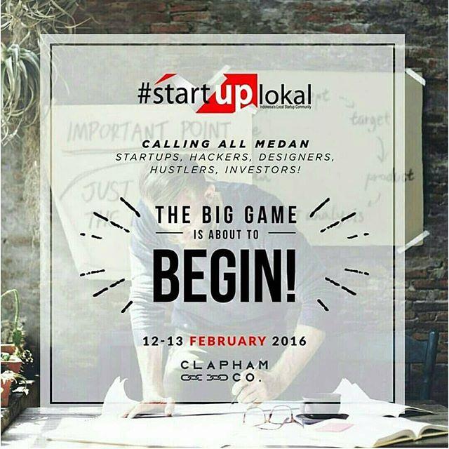 Festival StartupLokal Medan 2016