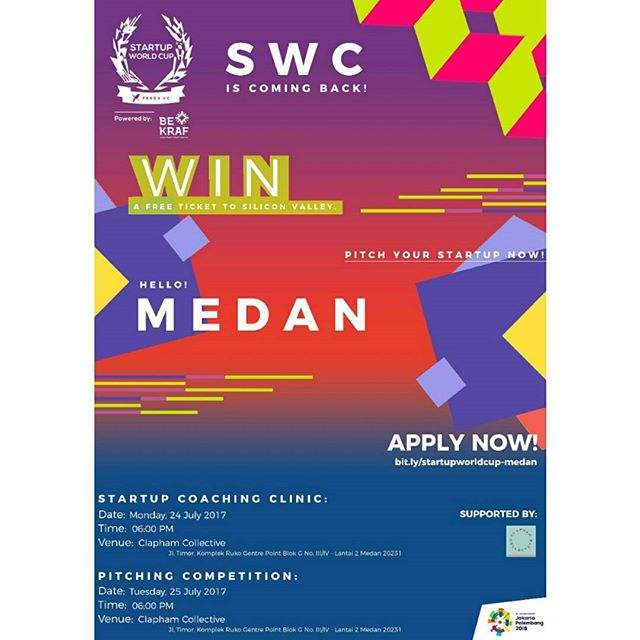 Start Up World Cup 2018, Yuk Daftarkan Startup Mu !
