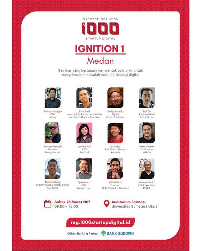 Gerakan Nasional 1000 Startup Digital Medan