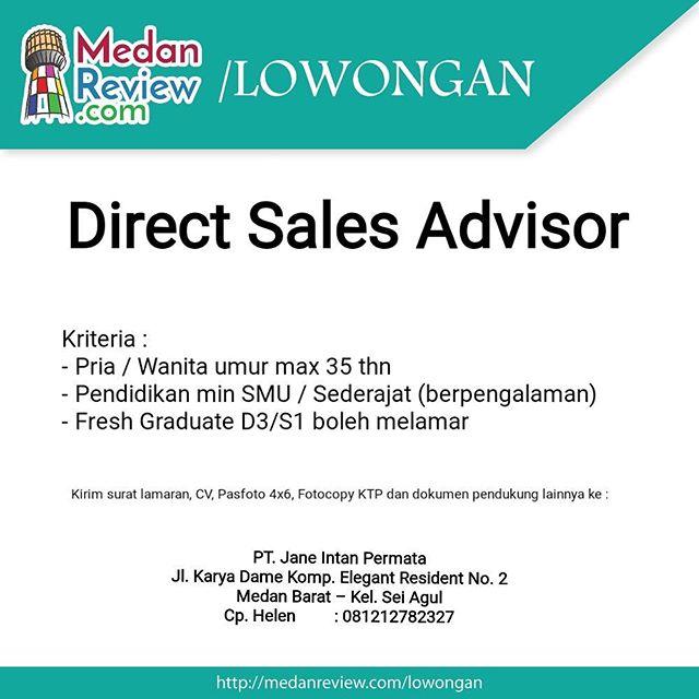 PT. Jane Intan Permata : Lowongan Kerja Direct Sales Advisor