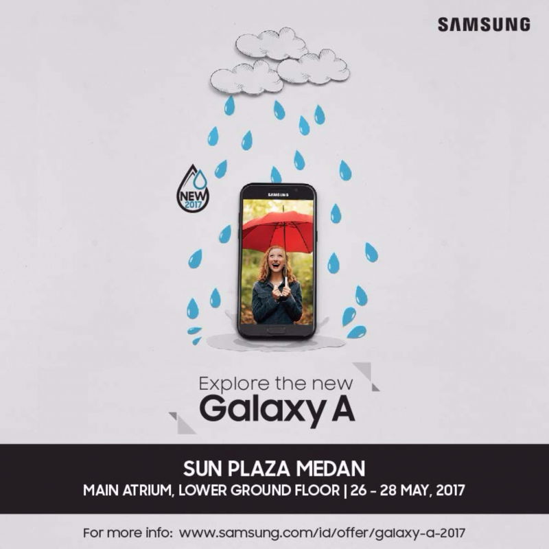 Promo Samsung Galaxy A2017 (#BornToExplore)