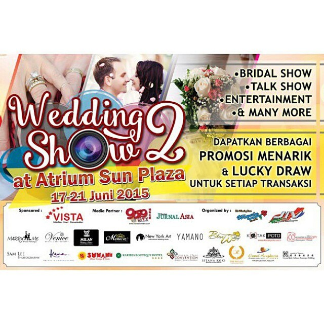 Wedding Show 2 di Atrium Sun Plaza (17 - 21 Juni 2015)