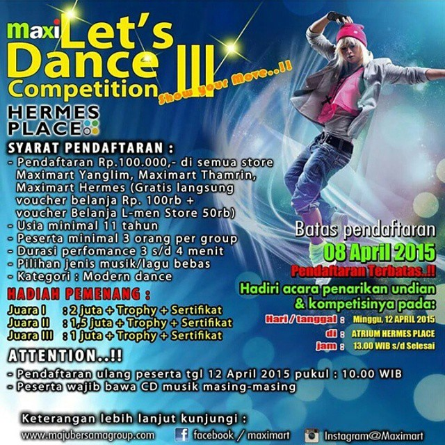 Maxi Let's Dance Competition III