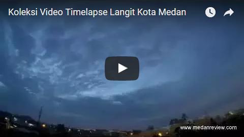 Langit Kota Medan Terekam Indah di Video Ini