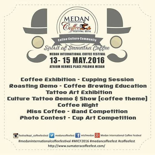Medan International Coffee Festival 2016