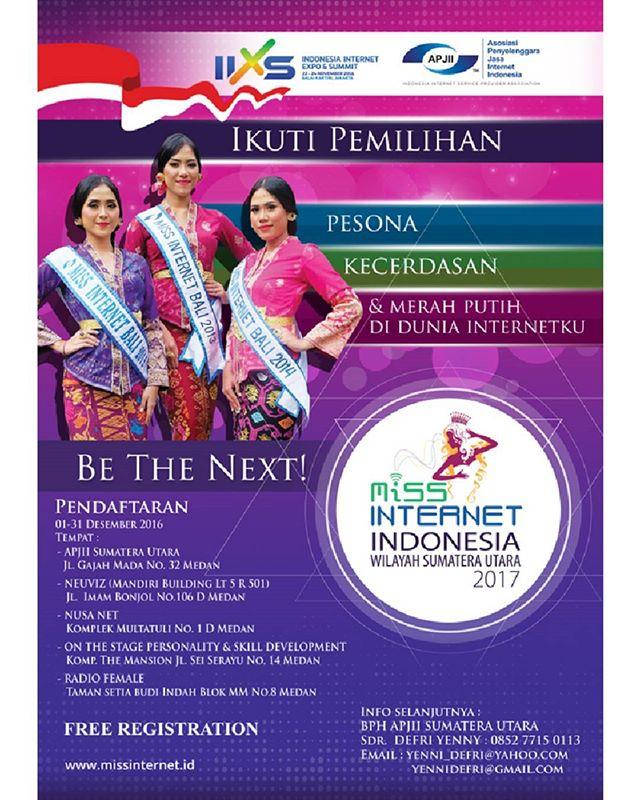 Ajang Pemilihan Miss Internet 2017 APJII