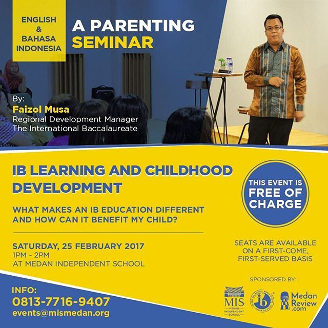 Parenting Seminar : IB Learning And Childhood Development