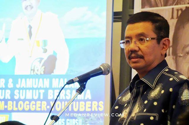 Jamuan Makan Malam dan Kopdar Bersama Gubernur Sumatera Utara