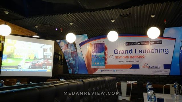 Bank Sumut : Grand Launching New SMS Banking
