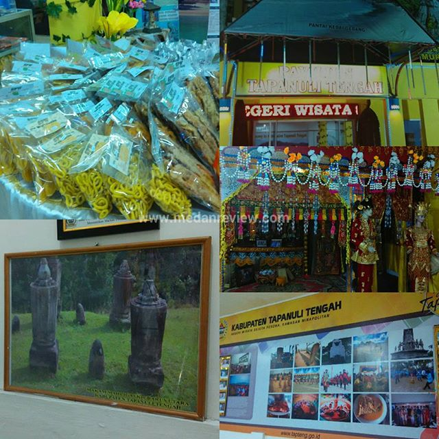Pavilion Kabupaten Tapanuli Tengah Di Pekan Raya Sumatera Utara 2016 (PRSU 2016)