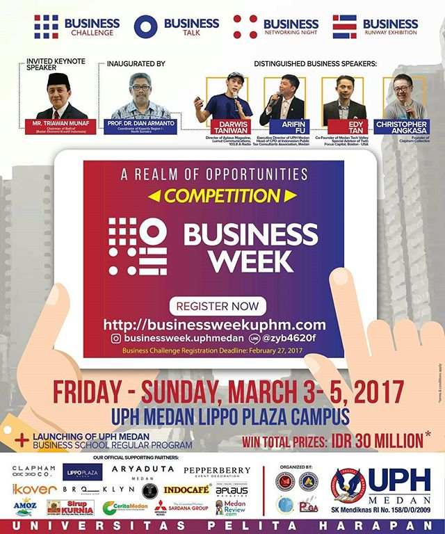UPH Medan Business Week 2017