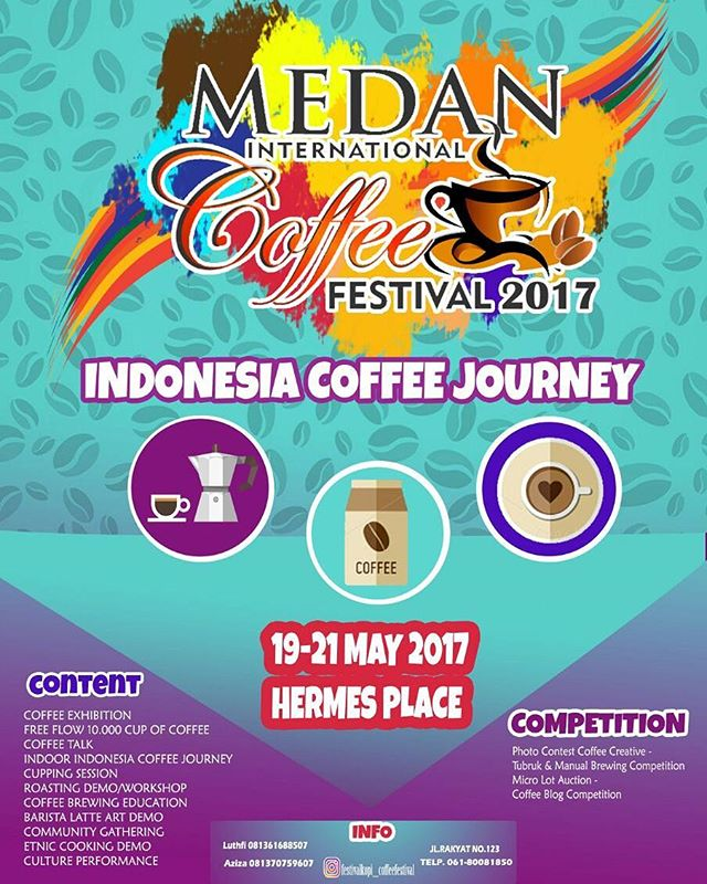 Medan International Coffee Festival (MICF) 2017 Edition 4.0